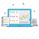 audit and analysis, online audit, data analysis, online analysis, business audit icon