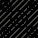 association, company, firm, organization, team icon