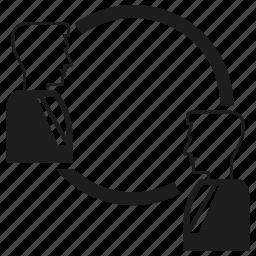 human, man, rotate icon