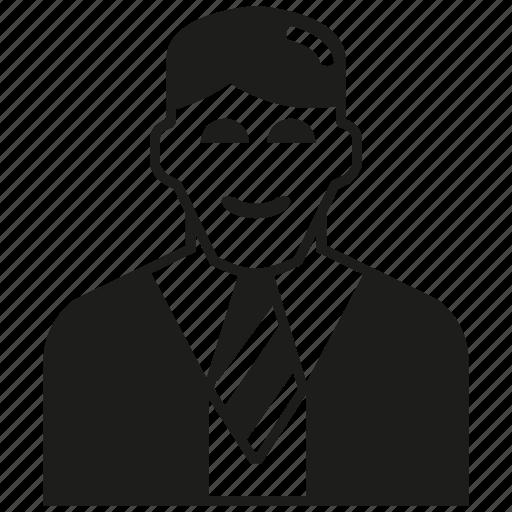 business man, man icon