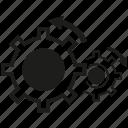 gear, rotate