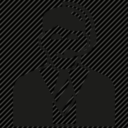 call center, man, operator icon