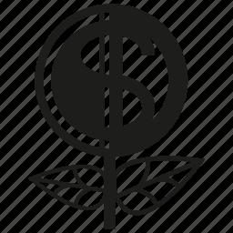 invest, money, profit icon