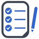 agenda, check, list, menu, ok, tasks icon
