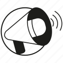 announce, megaphone