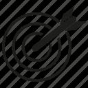 arrow, dart, goal, target