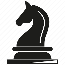 chess, game, horse icon