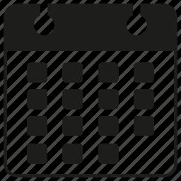 calendar, schedule, table icon