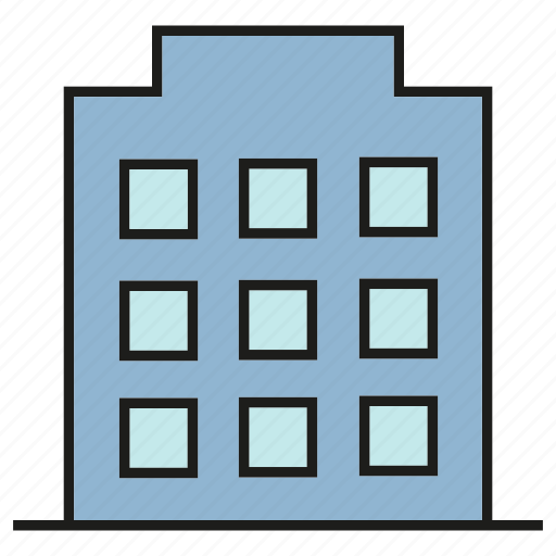 building, office, real estate, tower icon