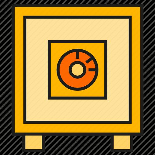 safe, saving, security, value icon