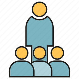 conference, leader, office, people, team icon