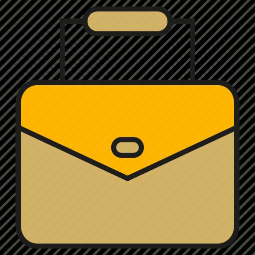 bag, briefcase, handbag, valise icon