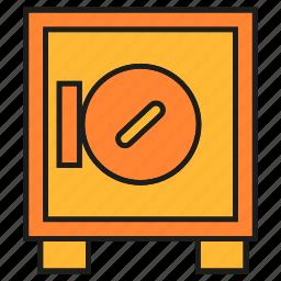 money, protect, safe, saving, security icon