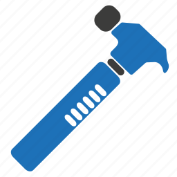 customize, hammer icon