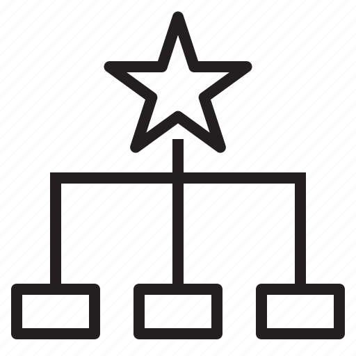 business, head, management, plan, star, success icon