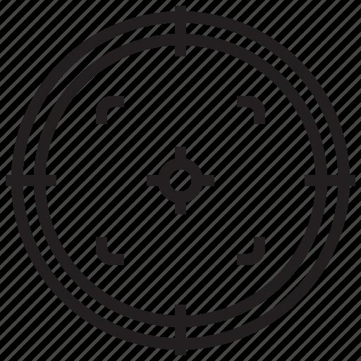 business, management, plan, success, target icon