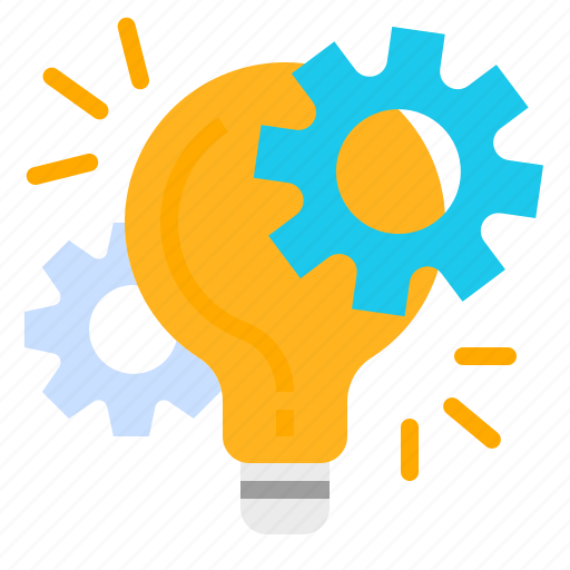 business, concept, idea, innovation, management, project, technology icon