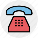 call, handset, landline, old, phone, telephone icon