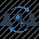 expert, management, specialist, support team, teamwork icon