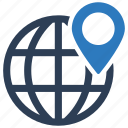 business location, global business, gps, pin icon