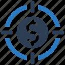 aim, financial target, investment, money, profit