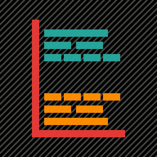 chart, gantt, graph, management, plan, project, task icon