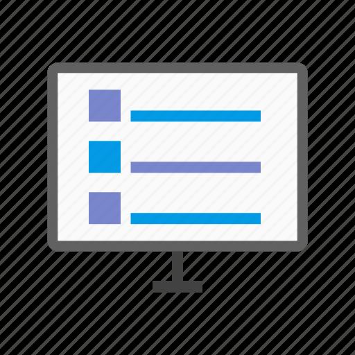 advertising, calendar, internet, ipad, notebook, online, schedule icon