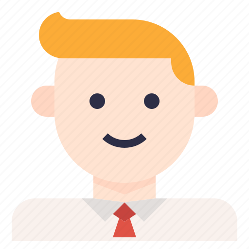 avatar, businessman, employee, man icon