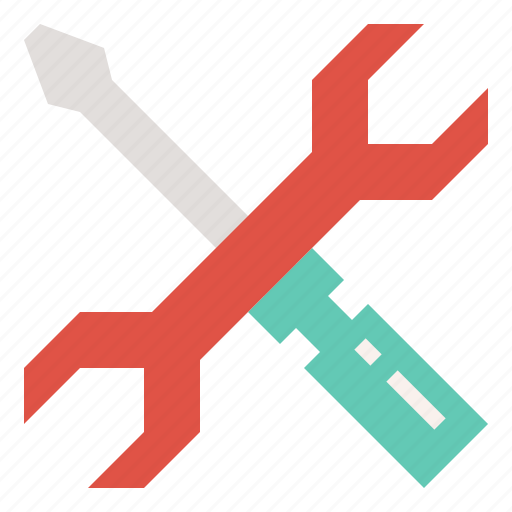 configuration, manage, repair, screwdriver, setting, tools, wrench icon