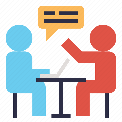 corporate, discussion, hr, interview, meeting, talk, team icon