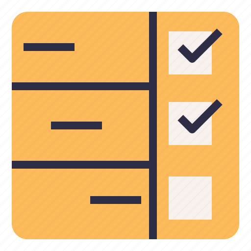 checklist, planning, table, task, timeline icon