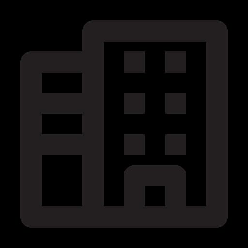 building, business, management, media, presentation icon
