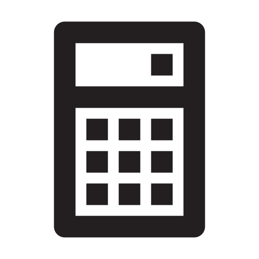 business, calculator, management, media, presentation icon