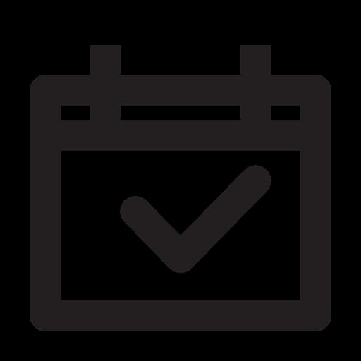 business, calendar, management, media, presentation icon