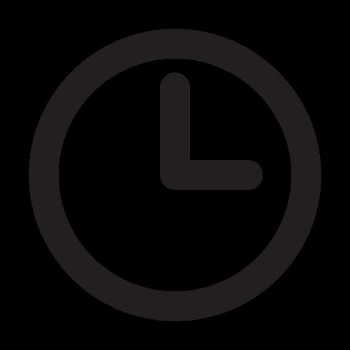 clock, v icon