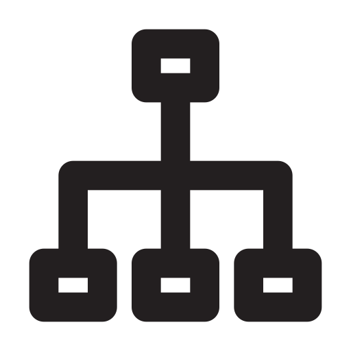 business, management, media, presentation, structure icon