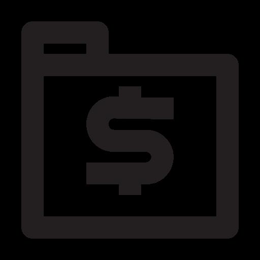 business, folder, management, media, presentation icon