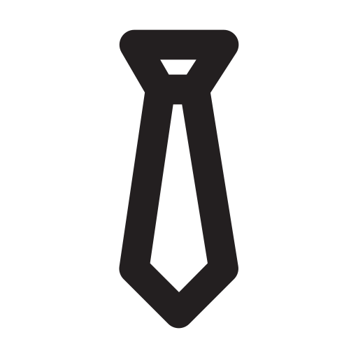 business, management, media, presentation, tie icon