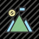 flag, management, mountain