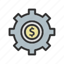 business, management, option, setting icon