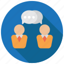 business, chat, conversation, message icon