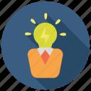 creative, design, idea, smart icon