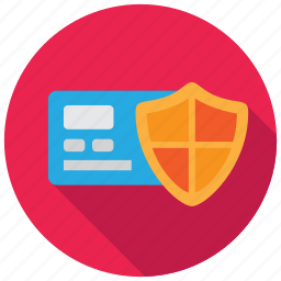 card, credit, payment, protection icon