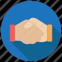 agreement, handshake, partnership icon