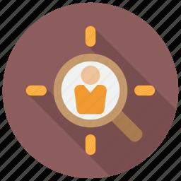 employee, employment, headhunter, recruitment icon