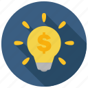 business, creative, idea icon