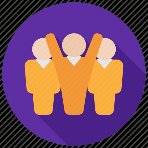 leader, management, team, teamwork icon