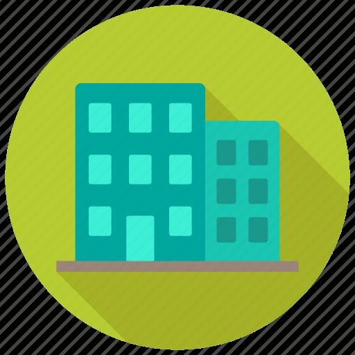 architecture, building, office icon