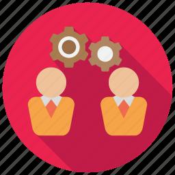 cogwheel, director, gears, manage, operate icon