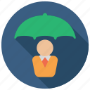 business, protector, umbrella icon